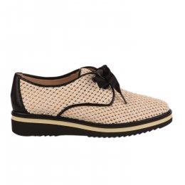 Chaussures à lacets femme - HISPANITAS - Beige