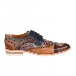 Chaussures à lacets homme - MELVIN & HALMILTON - Bleu marine