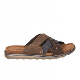 Mules homme - ROHDE - Marron