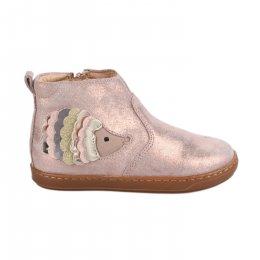 Boots fille - SHOO POM - Rose dore