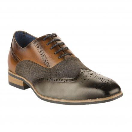 uk availability 0eb11 28a02 Chaussures à lacets homme - Gris Kdopa