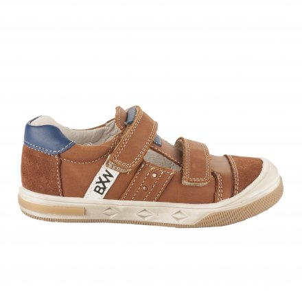 60e9dcc766f91 Chaussures à lacets garçon - BOPY - Naturel ...