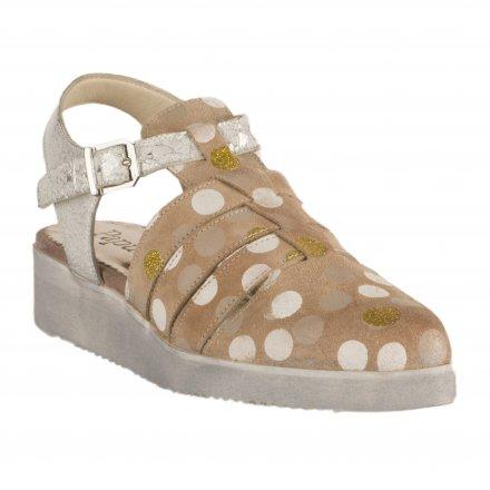 bdfb725272bc9d ... Chaussures à lacets femme - PAPUCEI - Beige