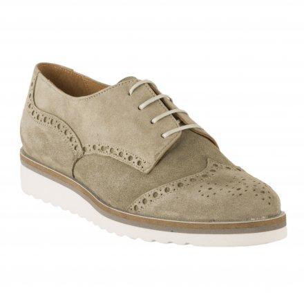 862bf74648df97 ... Chaussures à lacets femme - MYMA - Kaki