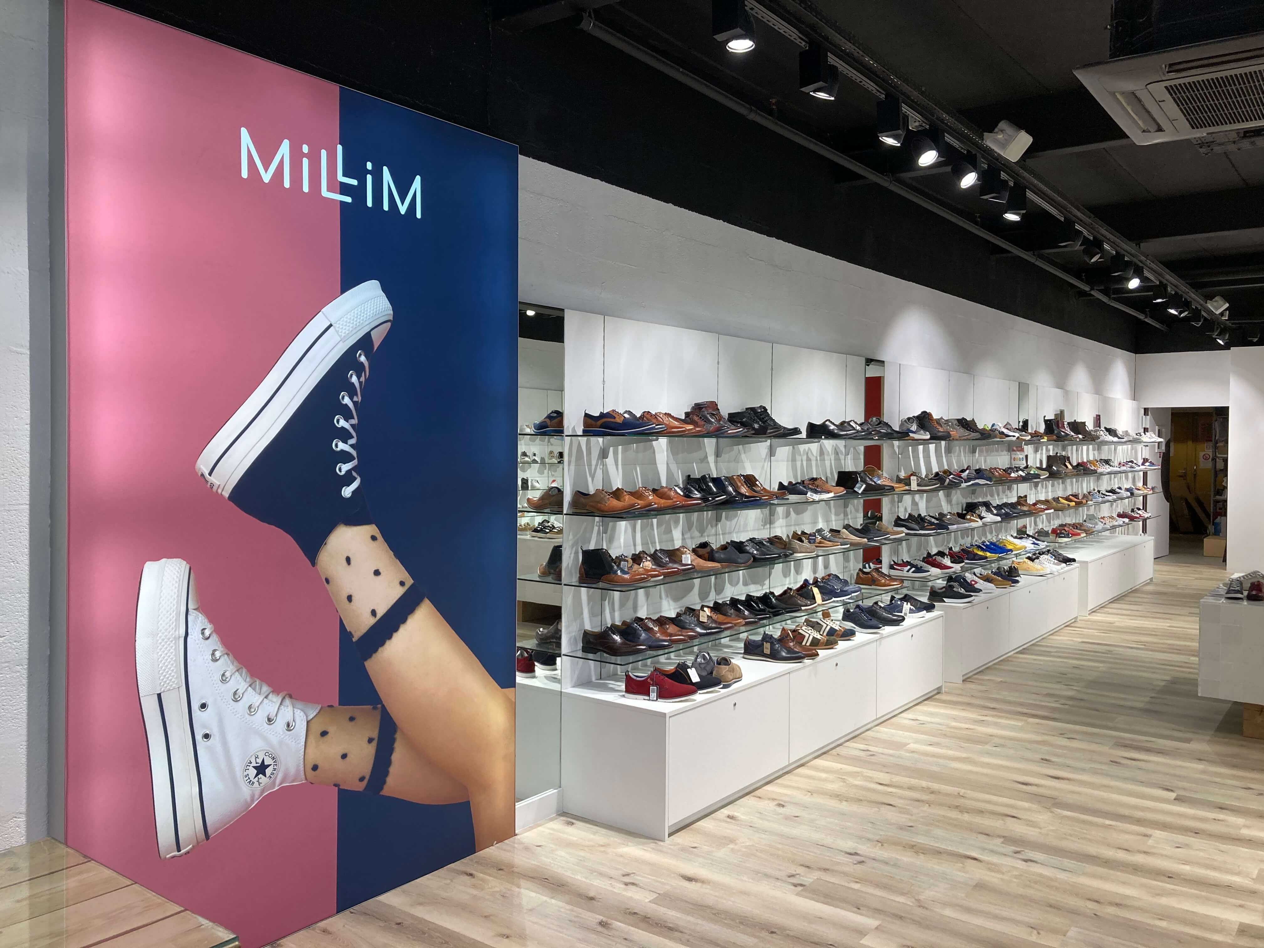 MAGASIN millim Englos interieur