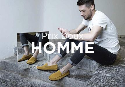 Prix doux chaussures homme